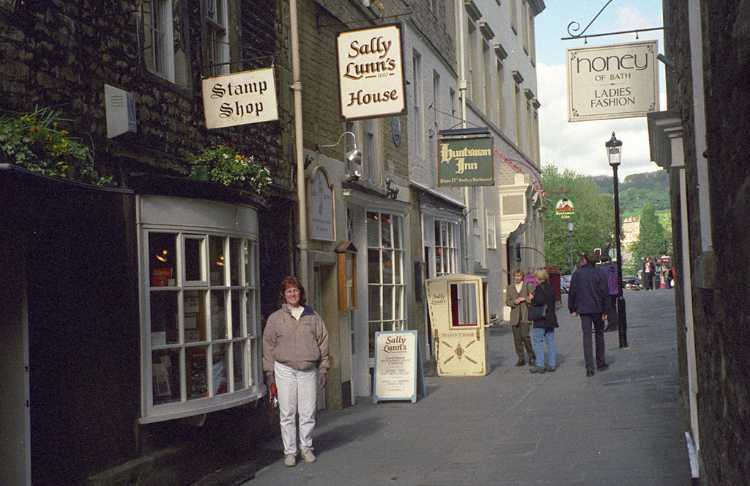 The famous Sally Lunn's House in Bath
