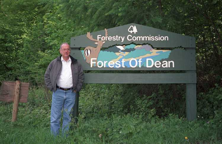 The Royal Forest of Dean is in the Wye Valley in South Hereforshire