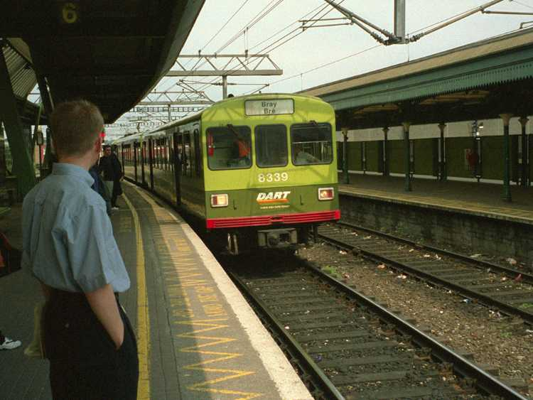 This train took us from Dun Laoghaire where our ferry docked to Dublin and back