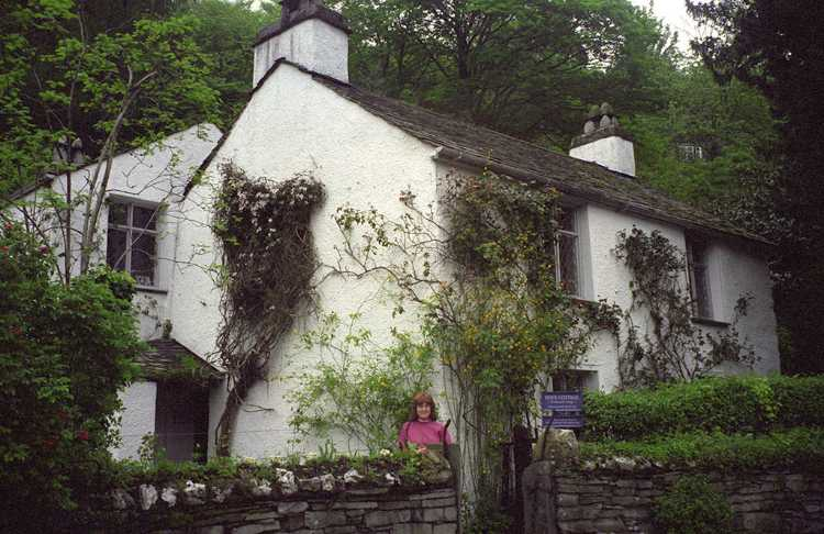 The Dove Cottage was the home of Willam Wordsworth from 1799 to 1808.