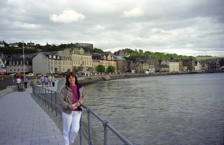 The Oban, Scotland waterfront