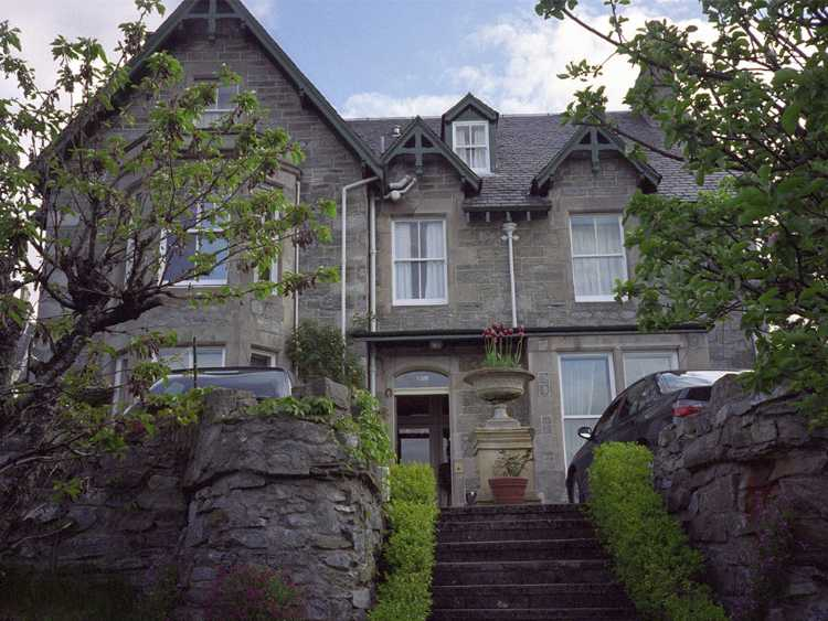 We spent one night at the Craigroyston  House in Pitlochry.