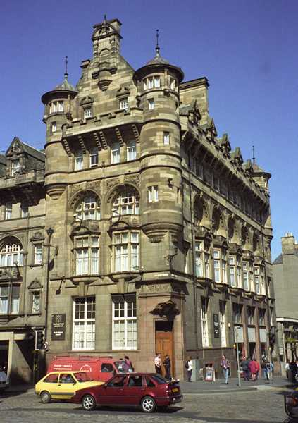 A building in Edinburgh