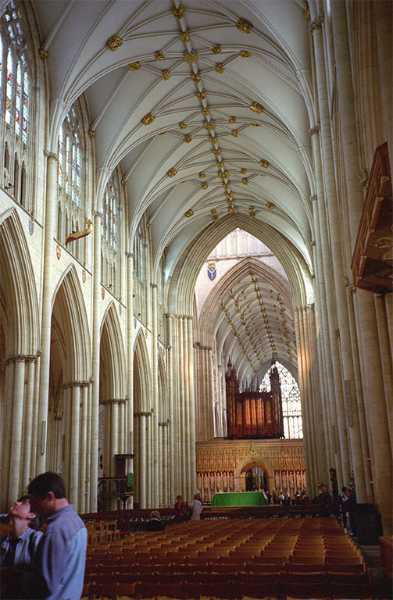 York Minster interior