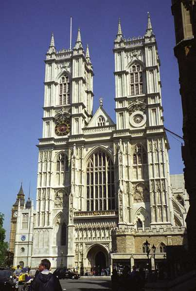 Westminister Abbey in London. Since 1066 all but two sovereigns (Edward V and Edward VIII)  have been crowned here.