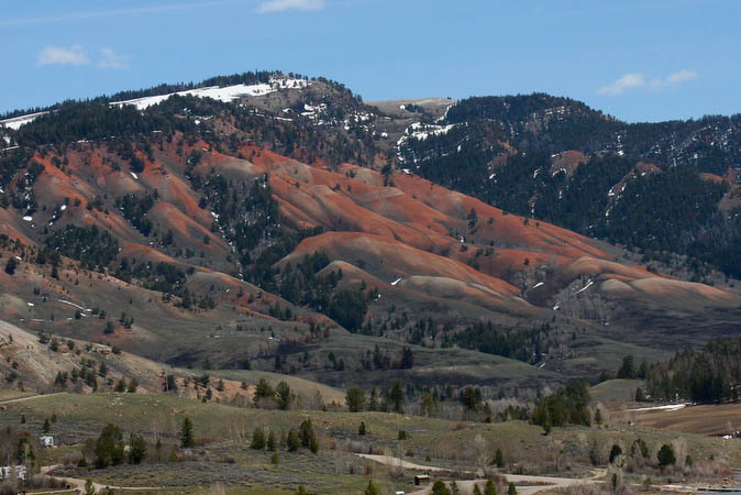 Red Hills in the Gros Ventre area