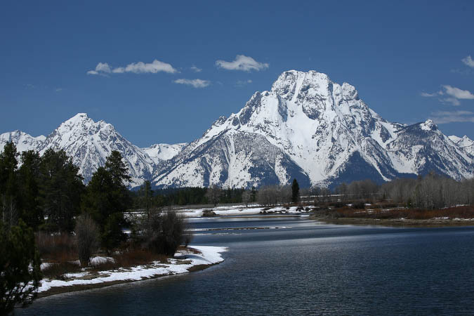Mount Moran from Oxboe Bend