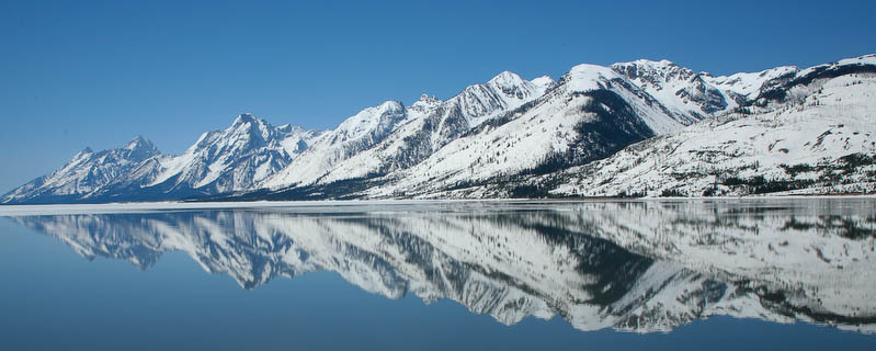 Reflections in Jackson Lake