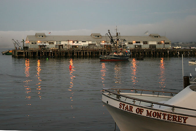 G3236 - Monterey's Municipal Wharf from Fisherman's Wharf