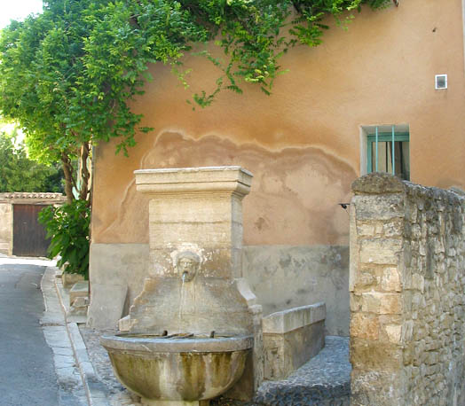 One of about 30 fountains in Pernes les Fontaine