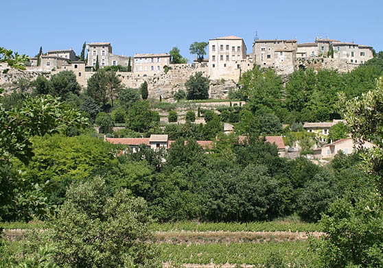 "This is Menerbes where Peter Mayle was inspired to write the best selling book ""A Year in Provence."""